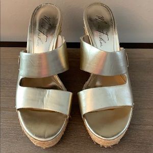Great condition Marc Fisher wedge sandals.
